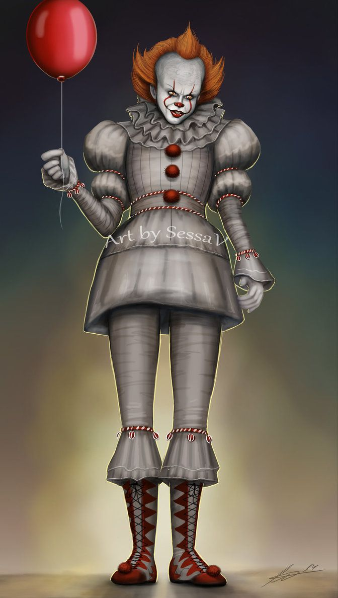 pennywise it 9 by sessav it and other clowns pinterest