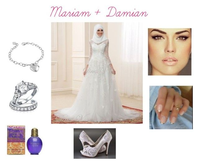 Mariam + Damian by roxy-crushlings on Polyvore featuring West Coast Jewelry, Bling Jewelry and Jessica McClintock