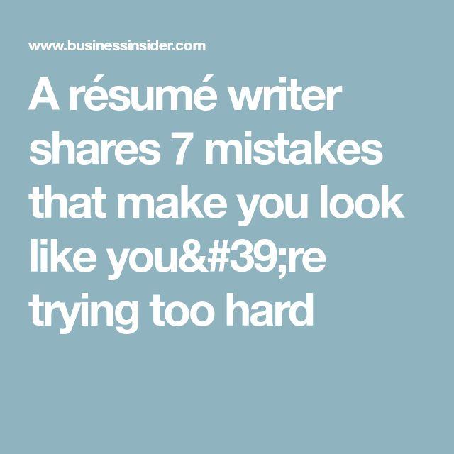 Best  Resume Writer Ideas On   How To Make Resume