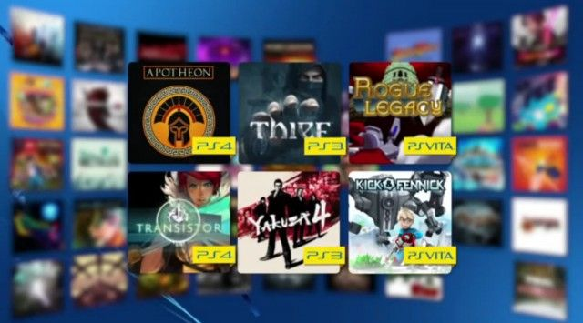 Auch im Januar dürfen sich Playstation Plus-Kunden über kostenlose Spiele freuen, mit dabei sind Spiele wie Thief (PS3), Transistor (PS4) und Rogue Legacy (PS4, PS3, PS Vita - Cross Buy).  https://www.youtube.com/watch?v=Ssl_VTOZ1V8 Ab 4. Februar 2015 nicht mehr bei PS Plus verfügbar:  inFamous First Light The Swapper Prototype 2 DuckTales Remastered Woah Dave! Duke Nukem: 3D Megaton Edition  Ab 4. Februar 2015 bei PS Plus verfügbar:  Apotheon (PS4) Transistor (PS4) Thief (PS3) Yakuza 4 ...