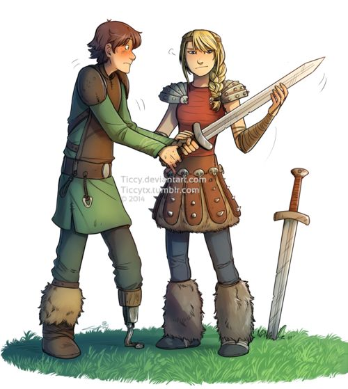Sword Training :) >> We need fanfiction.