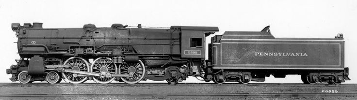 PRR K5 Pacific #5699 Class 4-6-2 with Caprotti Poppet Valves