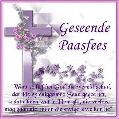 Geseende Paasfees