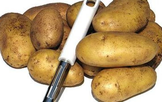 Vari modi per utilizzare la patata. Pulire i tappeti, pulizia vetri, concime per l'orto, fare il bucato...