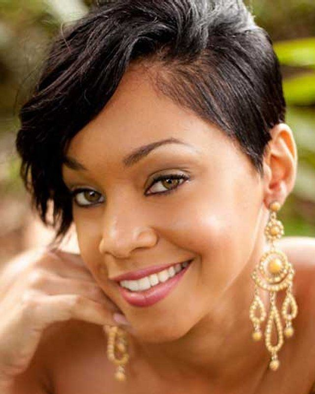 Cute Short Hairstyles for Black Women...~love African American hairstyles all ways!