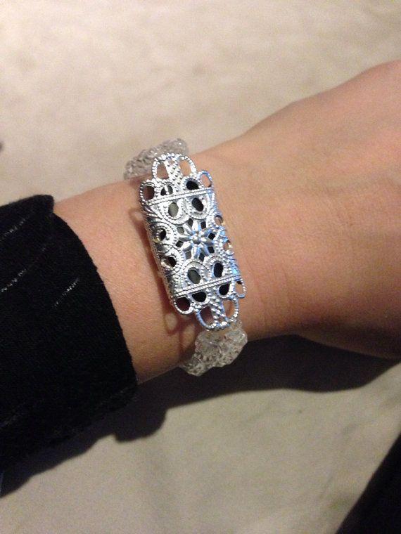 Fitbit Bracelet silvertone by ActiveElegance on Etsy, $29.99