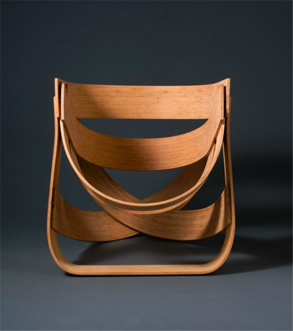 Solid and Flexible Bamboo Chair Furniture In Limited Edition Design