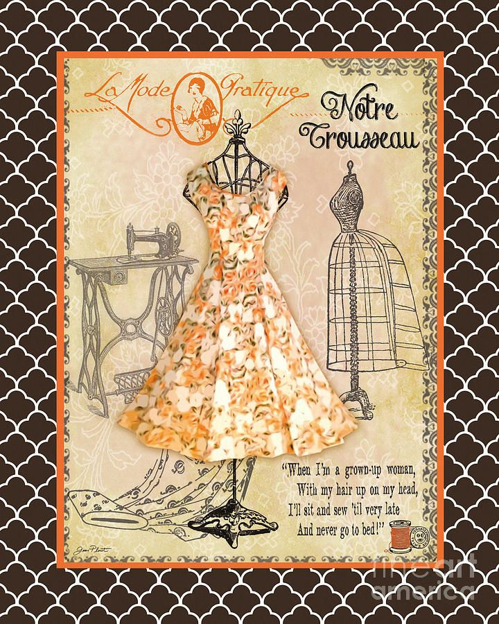 French Dress Shop-c2 Digital Art
