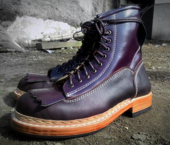 Awesome boots shape Follow our IG @PROF_BARNETS