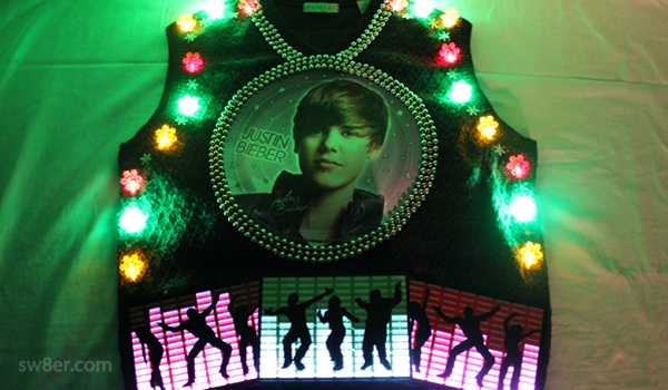 Justin Bieber Concert Christmas Sweater | DIY & How To | Pinterest ...
