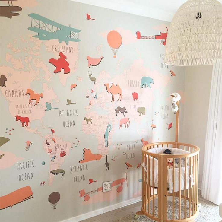 19 best Baby Geschenk images on Pinterest Baby room, Animals and - abwaschbare tapete küche