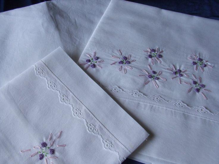 lenzuolino  culla cotone realizzato e ricamato a mano, by maglieria magica, 48,00€ su misshobby.com