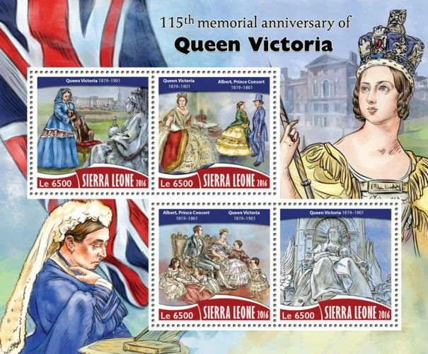 SRL16713a 115th memorial anniversary of Queen Victoria (Queen Victoria (1819–1901); Albert, Prince Consort (1819–1861))