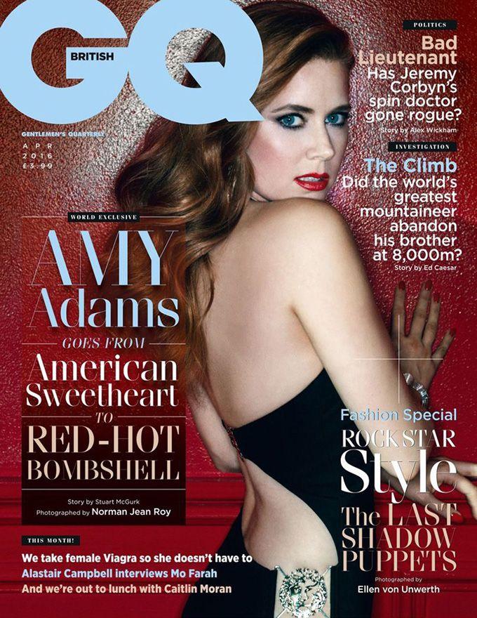 Эми Адамс в GQ UK (Интернет-журнал ETODAY)