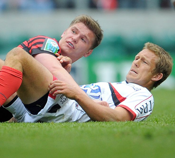 Epic moment -- Owen Farrel tackles Johnny Wilkinson just as Wilkinson gets off a drop goal... and they both watch the kick go over. A moment later, Wilkinson gives Farrel a conciliatory pat on the back.