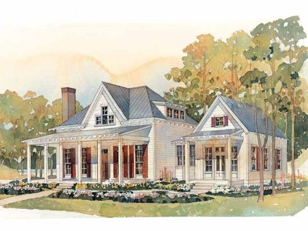 17 best images about low country style on pinterest for Country living house plans
