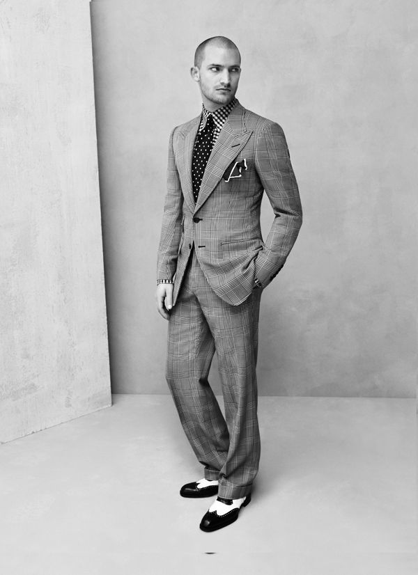 Modern 30s style...Tom Ford