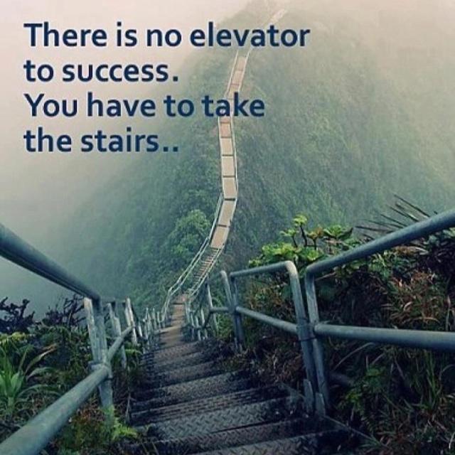 Success the hard way