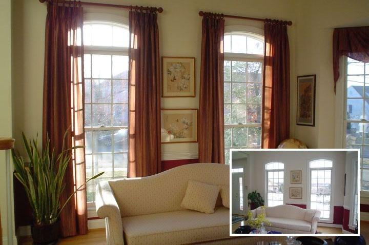 17 best ideas about window treatments on pinterest for Custom transom windows