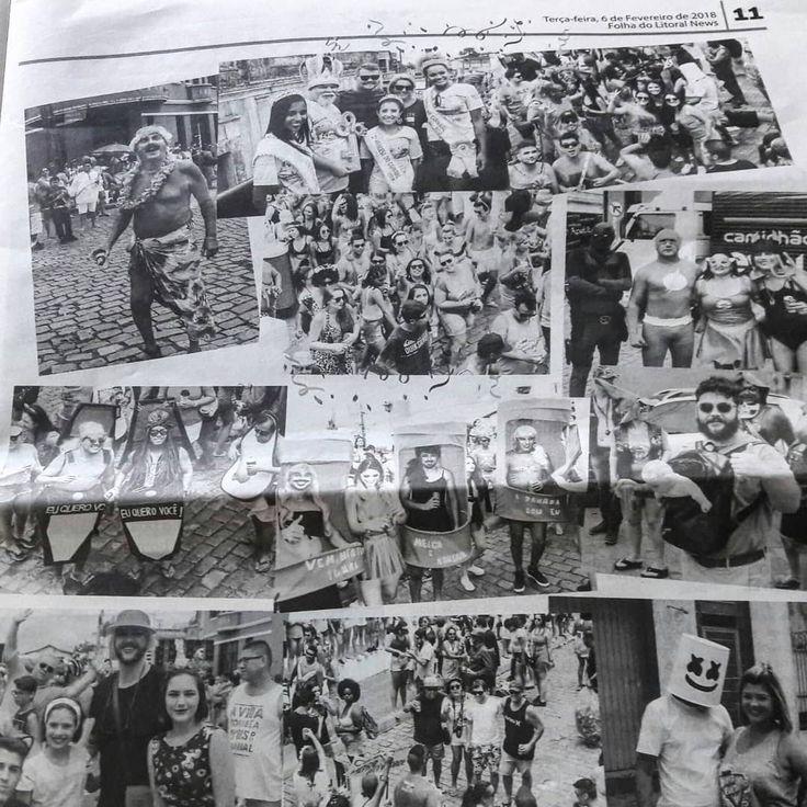 Olha isto @chamonteiropng79 saimos no #jornalismo hahaha  #carnaval #carnival #banhoafantasia #festafantasia #festa #costumeparty #richandfamous #famous #alegria #happytime #instamoment #moments #instagramers #like4like #top #hangover