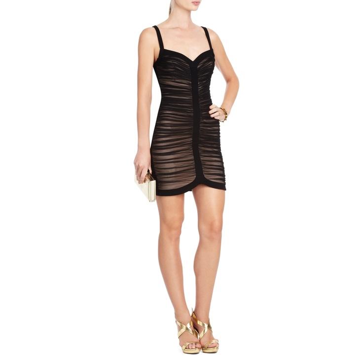 BCBGMAXAZRIA - VIEW ALL: KEYLENE RUCHED COCKTAIL DRESS