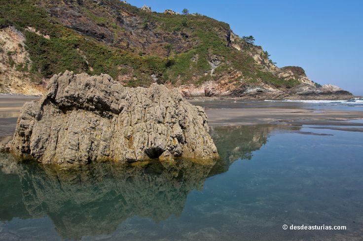 Playa de Otur #Valdés. Playas de #Asturias [Más info] http://www.desdeasturias.com/playa-de-otur/