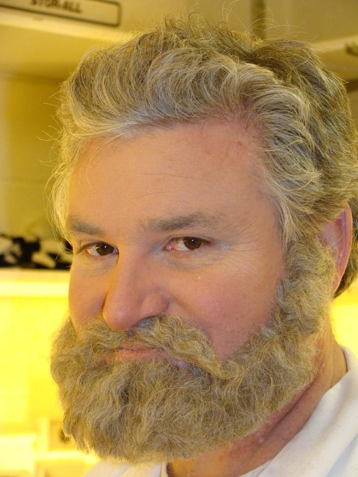 false beards | ... fake beards, then Instructor Marianne Wittelsberger demos two more