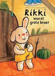 Rikki wordt grote broer - boekreview - Juf Jannie    Leuk boek om je kind voor te bereiden op de komst van de baby.
