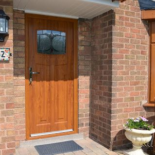 Golden Oak 1930 S Style Composite Door