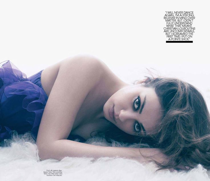 In the March 2011 issue of W magazine, Mila Kunis struck a sexy pose.