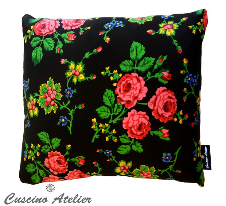 """góralski folklor""cushion"