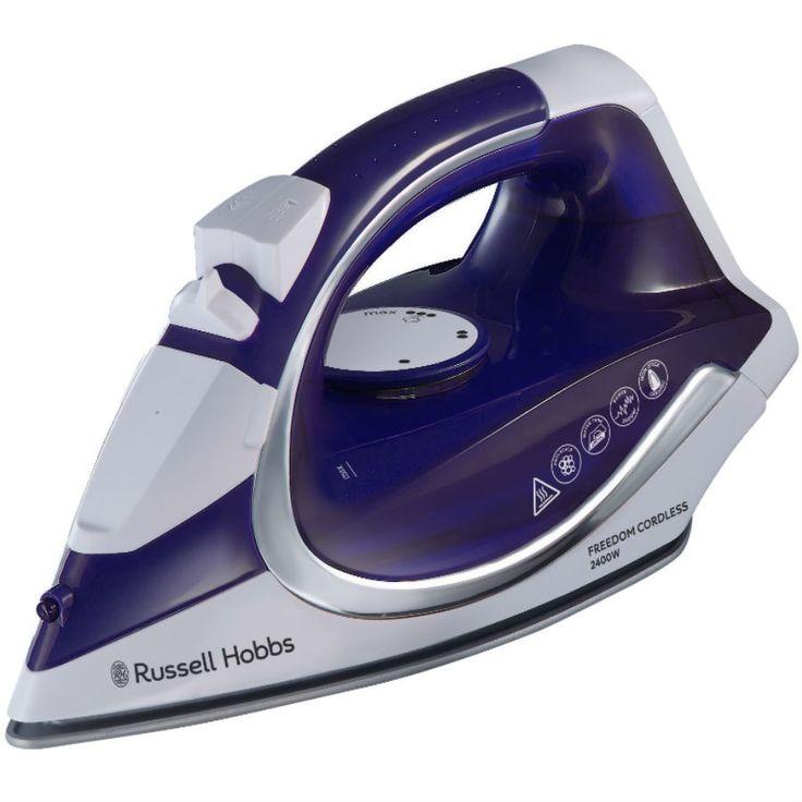 Russell Hobbs Freedom 23300 Cordless Iron - Purple