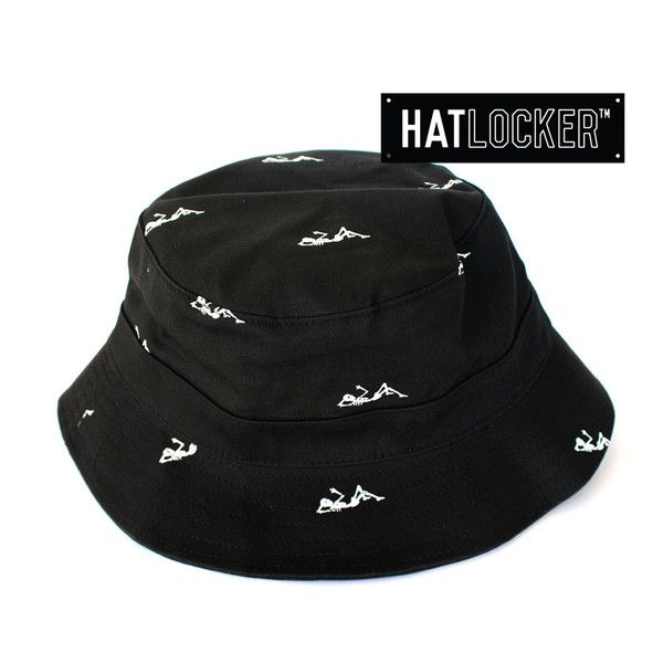 Regiment Black Reversible Bucket Hat by Crooks & Castles | Find it at www.hatlocker.com #crooks #castles #buckethat