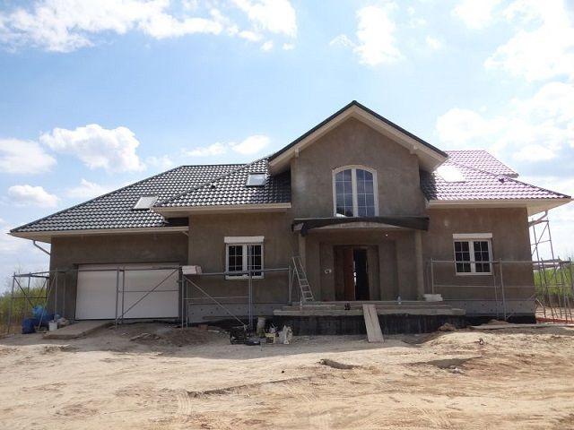 Widok projektu Benedykt 2  #projekt domu #dom jednorodzinny # dom