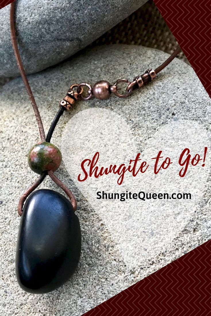 Shungite accessories for the car - take EMF protection with