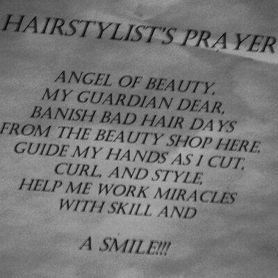 Hairstylists Prayer