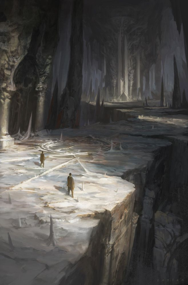 Fantasy setting - artist unknown