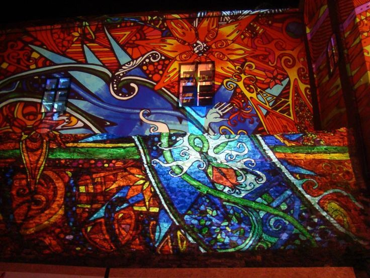 TRANZIT Festival (Kőszeg, Hungary) 2013 Night Projection's raypainting #tranzit #tranzitfestival #tranzitfestival2013 #nightprojection #raypainting #visual