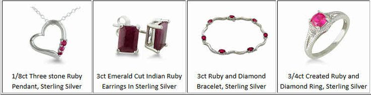#Ruby #Jewelry #DiscountCode Get half off Ruby Jewelry with discount code at  http://mother-gifts.net/birthstones-and-gemstone-jewellery