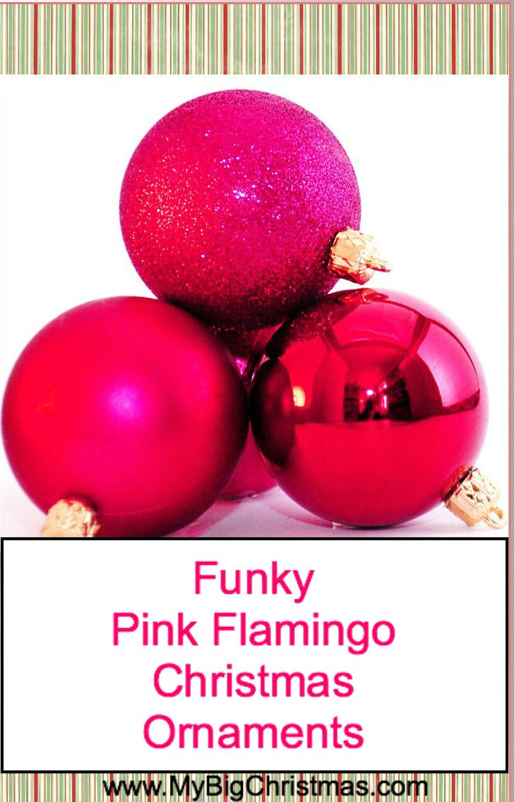 22 best Pink Flamingo Christmas Ornaments images on Pinterest ...