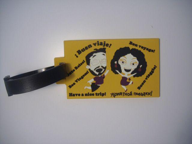 etiquetas personalizadas para ropa amarilla