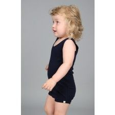 Napoli sleeveless body in organic cotton. Kids clothes, baby clothes, soft, comfort, play.