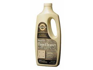 how to clean vinyl floors with bleach