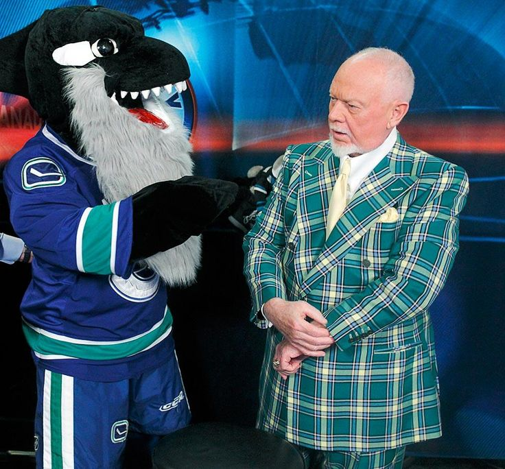 Don Cherry dignified??? Always dignified, no matter the company you keep.