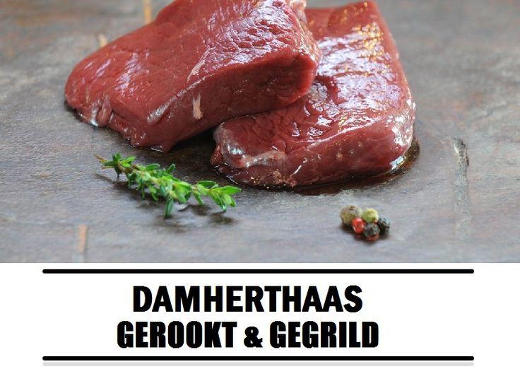 Barbecue recept: damherthaas gerookt & gegrild