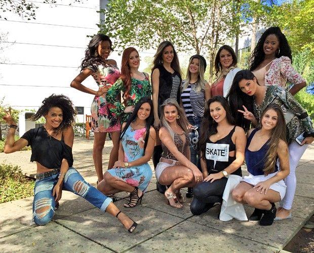 Bailarinas no detalhe: veja de perto os looks das candidatas ao concurso