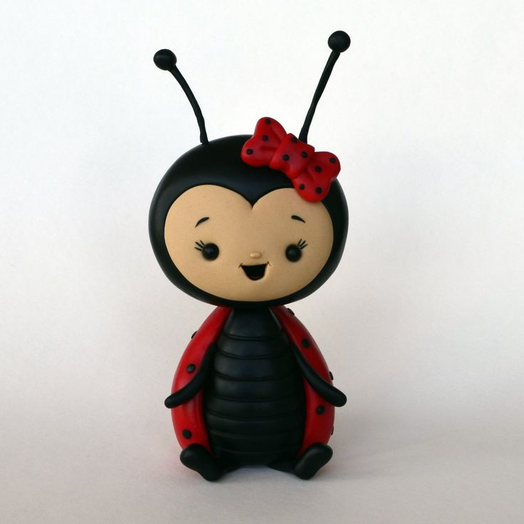 DIY Cute Ladybug Cake Topper Step-by-Step Tutorial