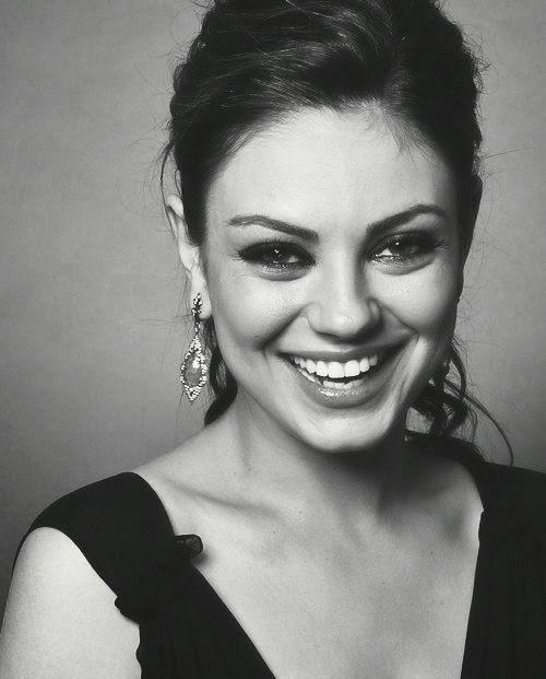 Image result for mila kunis black and white photoshoot