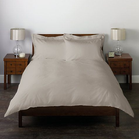 Buy John Lewis 400 Thread Count Cotton Sateen Duvet Cover Set Online at johnlewis.com