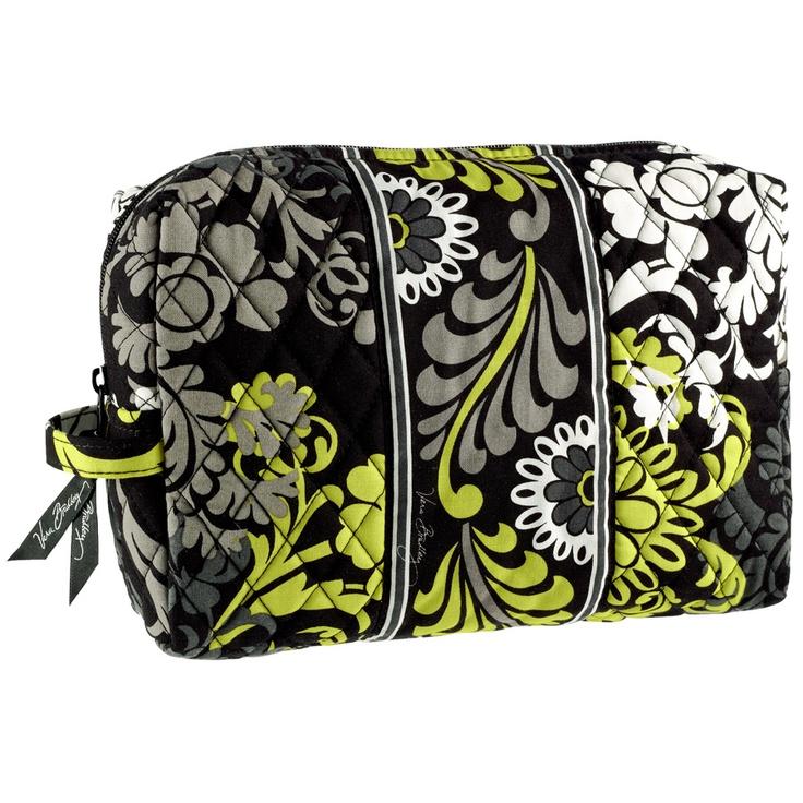 Vera Bradley Large Cosmetic Bag Vonmaur